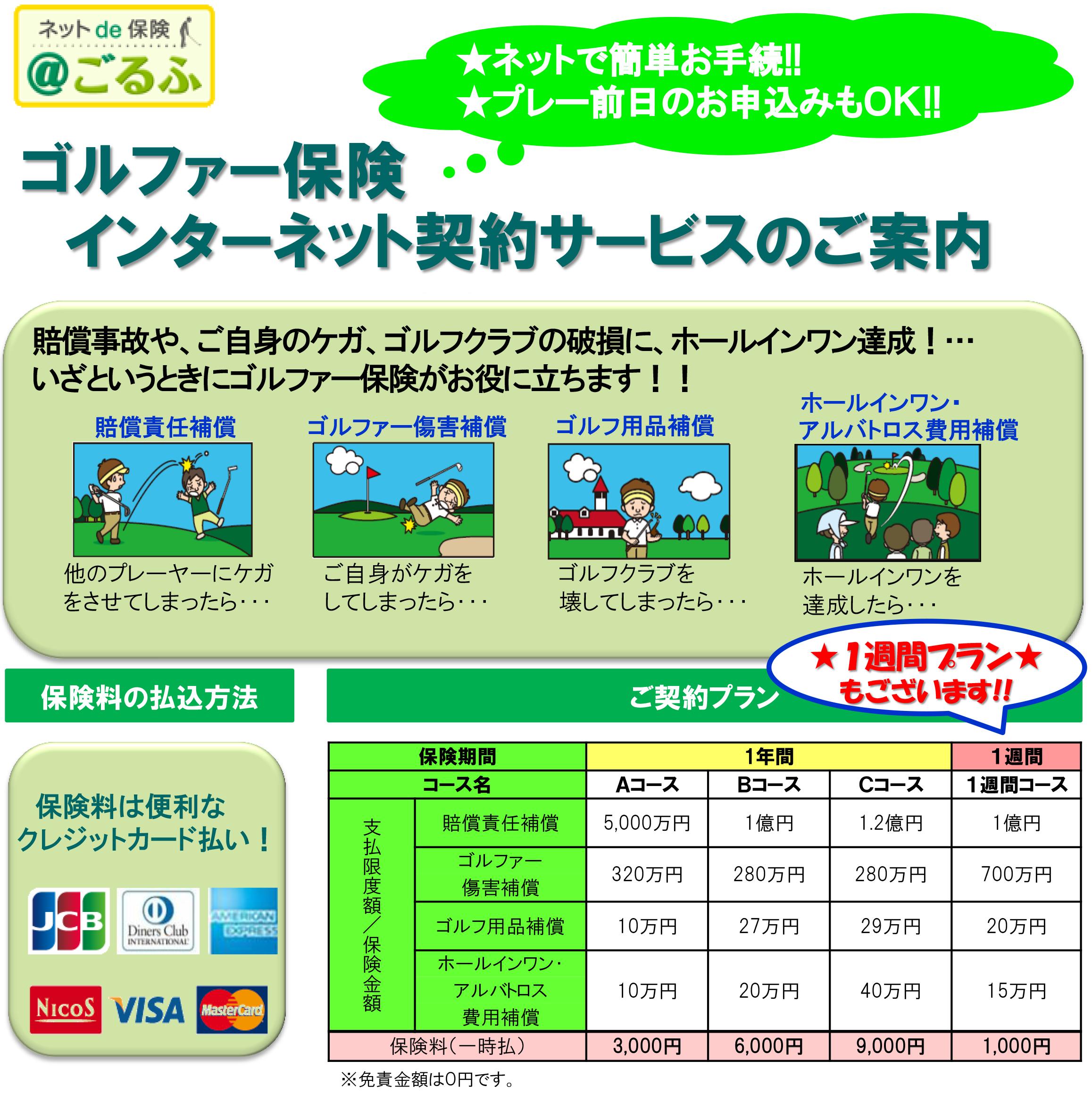 ゴルファー保険補足1